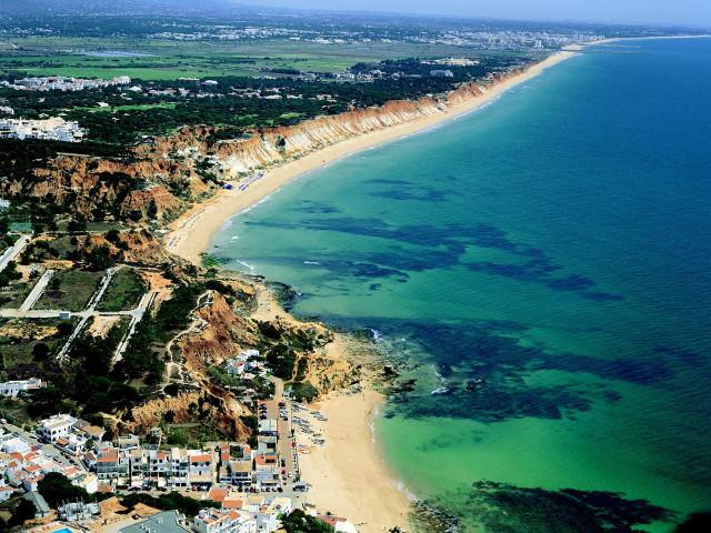 Praia da Falésia Beach Algarve Portugal Top de Portugal