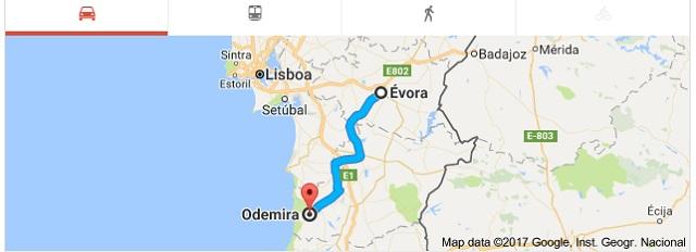 Como Chegar Odemira Beja Portugal Portal Top De Portugal C Top De